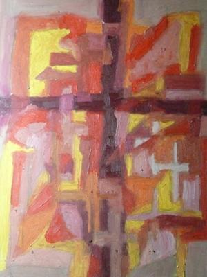 Malerei Öl auf Leinwand